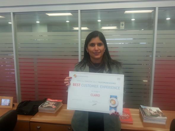 Consuelo Dextre, Gerente de Procesos y Calidad en Claro Perú.
