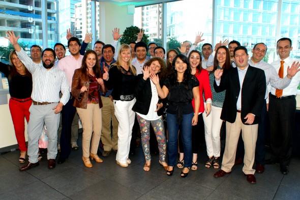 Participantes de la Certificación celebrada en Chile