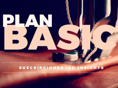 Plan BASIC - Suscripción IZO insights