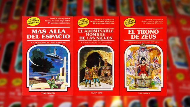 Libros elige tu propia aventura